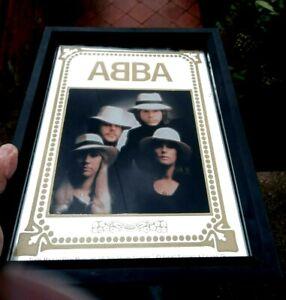Vintage 1970s ABBA Mirror