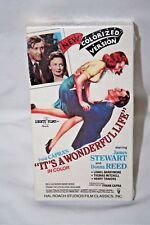 It's A Wonderful Life VHS *RARE* Cover Art 1989 Video Treasures *BRAND NEW*