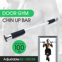 Portable Gym Chin Up Bar Home Door Pull Up Doorway Exercise Workout AU Stock