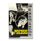 PSYCHO Horror Movie 1960 Hitchcock Art Silk Canvas Film Poster Print 24x36 inch