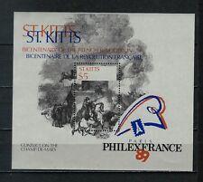 St. Kitts - PhilexFrance '89 MNH Souvenir Sheet