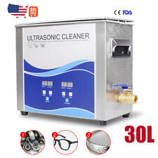 Digital 30l Commercial Heated Ultrasonic Cleaner Sus304 Stainless Steel Sale Us