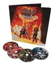 Kiss - Rocks Vegas - Live At The Hard Rock Hol - Deluxe (NEW DVD+BLU-RAY+CD SET)