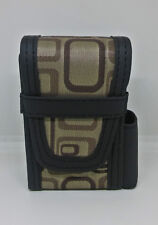 Kingstar Brown Oblone Pattern Design PVC 100s Size Cigarette Pack Case