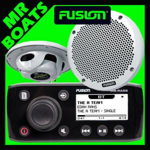 Fusion Marine Stereo + 2 Speakers + Bluetooth Radio Part #: 010-01716-10-FP
