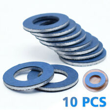 10pcs 90430-12031 Oil Drain Plug Washer Gaskets Car Fit For Toyota Lexus Tools