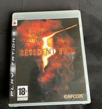 Resident Evil 5 - Jeu PS3 Complet Comme NEUF