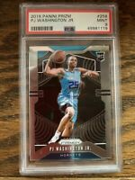 2019-20 Panini Prizm PJ Washington Jr. Rookie Card RC #258 PSA 9 Hornets UK