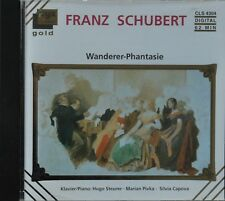 "24 Carat Gold  CD Franz Schubert - ""Wanderer-Phantasie"" Audiophile Super Klang!"