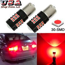 Red LED 30SMD Strobe Flashing Brake Tail Light Lamp Bulb For BMW E46 E60 E90 F30