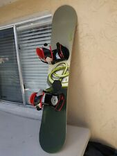 Burton Cruzer 145 Snowboard  with Bindings Snow board Progression