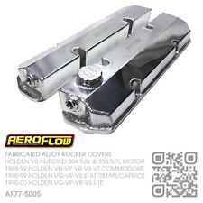 AEROFLOW FABRICATED V8 304-355 ROCKER COVERS [HOLDEN VQ-VR-VS STATESMAN/CAPRICE]