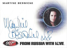JAMES BOND 50TH ANNIVERSARY SERIES 1 - AUTOGRAPH A198 Martine Beswick