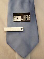 BICHE DE BERE pince a cravate argentée PAC4