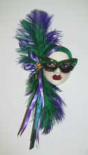 Unique Creations Masquerade Lady Face Mask Wall Hanging Decor