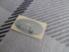 RANGE ROVER SMALL VINYL METALLIC SILVER DECAL LOGO TOP QUALITY COOL LOOK!