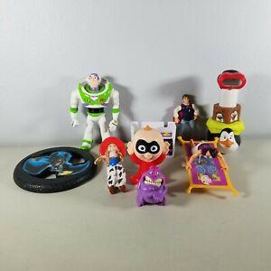 Disney Toys Lot of 9 Buzz Lightyear Aladdin See Full List Below