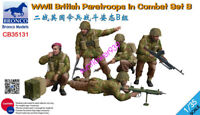 Bronco CB35131 1/35  WWII British Paratroops In Combat Set B free shipping