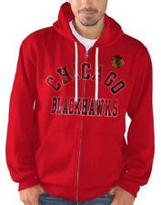 "Chicago Blackhawks NHL G-III ""Varsity"" Full Zip Hooded Men's Sweatshirt"