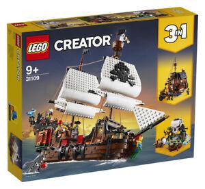 LEGO Creator 31109 3 in 1 Piratenschiff Taverne Insel Ship Pirateninsel Schiff