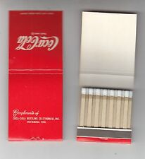 COCA-COLA BOTTLING CO. (THOMAS), INC.CHATTANOOGA, TENN. MATCHBOOK