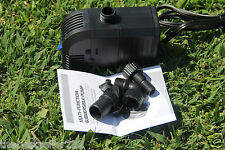 400gph Submersible Pump - Fountain * Pond * Waterfall