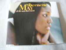 SHERNETTE MAY - ALL THE MAN THAT I NEED - UK CD SINGLE