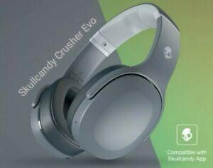 Skullcandy Crusher Evo - Chill Grey - Bluetooth Headphones - All new Crushers