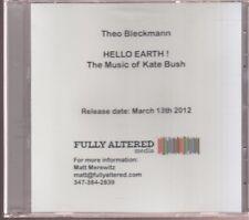 theo bleckmann hello earth ! cd promo the music of kate bush