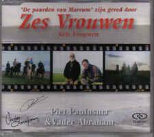 Piet Paulusma&Vader Abraham-Zes Vrouwen cd maxi single gesigneerd