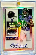 2015 Panini Contenders BRESHAD PERRIMAN Championship Ticket On-Card Auto /25 RC!
