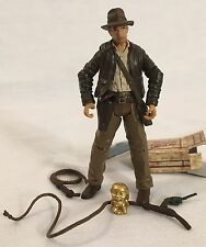 "Indiana Jones Raiders of the Lost Ark complete 3 3/4"" hasbro figure gold idol"