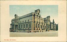 Postcard unposted Lancashire Bury art gallery