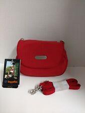 Baggallini On The Go Red ( Tomato / Mango ) Bag Purse Crossbody Shoulder Bag