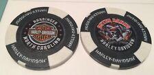 Outer Banks Harley Davidson Poker Chip, Harbinger NC (OBX) Black & White