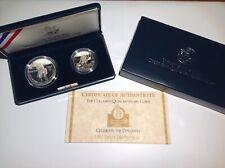 1992 US Mint The Columbus Quincentenary Two-Coin Proof Set BenL4C