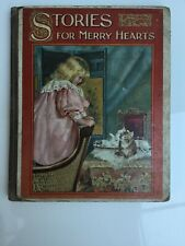 Rare, Vintage, Original, 1800's Stories For Merry Hearts. Nister & Co. No. 4205