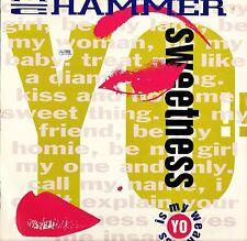 """MC HAMMER sweetness 12 CL 616 uk capitol 1991 12"""" PS EX/EX"""