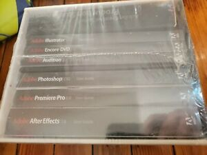 Adobe Creative Suite  2005 premiere pro illustrator Photoshop after effects new
