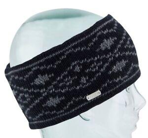 Coal Headwear The Whatcom Fascia Donna 100% Acrilico Fascia Nero Nuovo