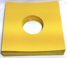 "(100) 78rpm 78 Record Sleeves Golden Brown Paper 28lb Stock 10"" + FREE SHIPPING!"