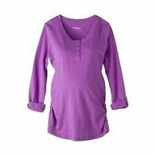 Maternity Cotton Blend Tops and Blouses