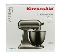 KitchenAid Artisan Mini 3.5 Quart Tilt-Head Stand Mixer - Contour Silver