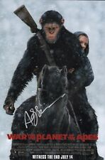 """~ Andy Serkis Authentic Hand-Signed """"Planet Of The Apes"""" 11x17 Photo ~"""