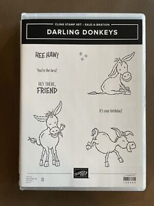 Stampin' Up Darling Donkeys Stamp Set