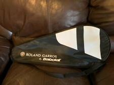 New Roland Garros by Babolat Single Tennis Racket Bag Cover Adjustable Handle