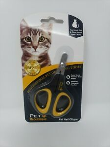 Cat Nail Clippers Pet Republique  – Professional Claw Trimmer for Cat, Kitten,