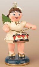 Hubrig SOCKELFIGUR Engel mit Trommel 121H0016