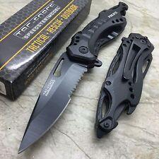 "8"" TAC FORCE POLICE TACTICAL SPRING ASSISTED FOLDING KNIFE Blade Pocket Open"
