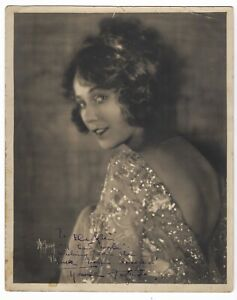 Walter Fredrick Seely (1886-1959) Photograph of Louise Fazenda-Autographed-1921
